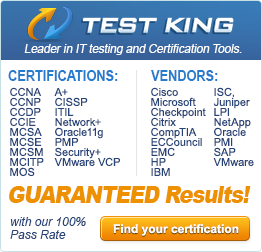 TestKing: Leader in IT testing and Certification Tools